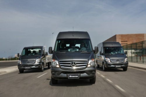 Mercedes-Benz Sprinter 20 anos